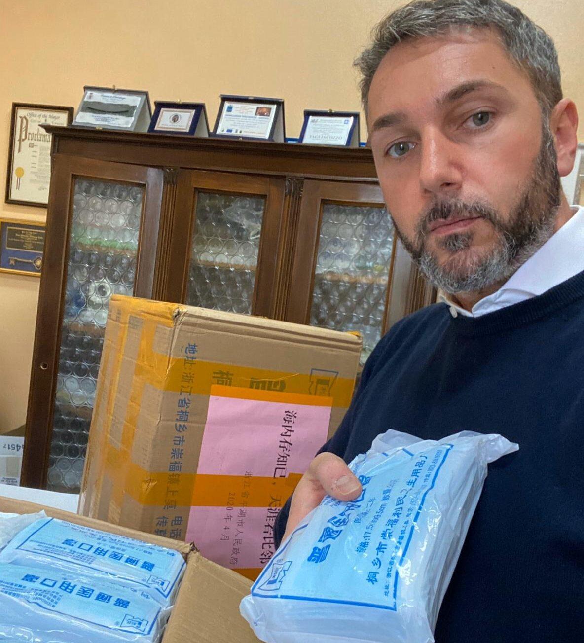 Dal 15 maggio torna operativo il PPI di Tagliacozzo. Il sindaco dona 4mila mascherine chirurgiche agli operatori sanitari
