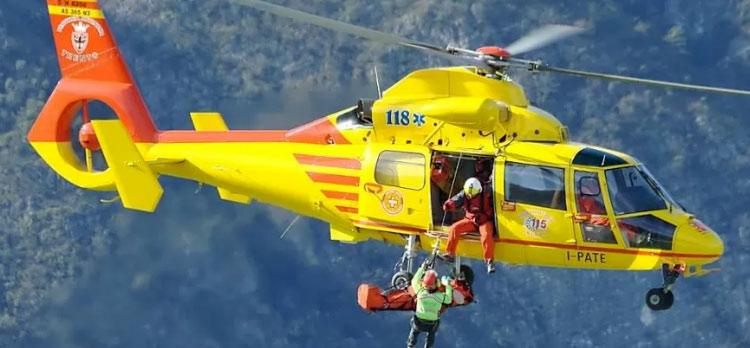 Escursioni in Abruzzo, a lavoro Soccorso Alpino ed elicotteri di L'Aquila e Pescara