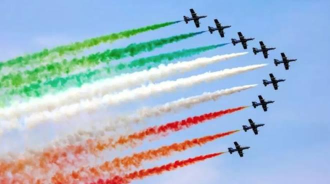 La Pattuglia Acrobatica Nazionale sfreccerà sull'Aquila il 26 maggio