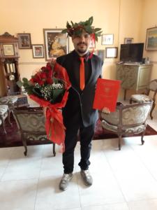 Laurea online per il neo-dottore avezzanese Daniele Orlandi