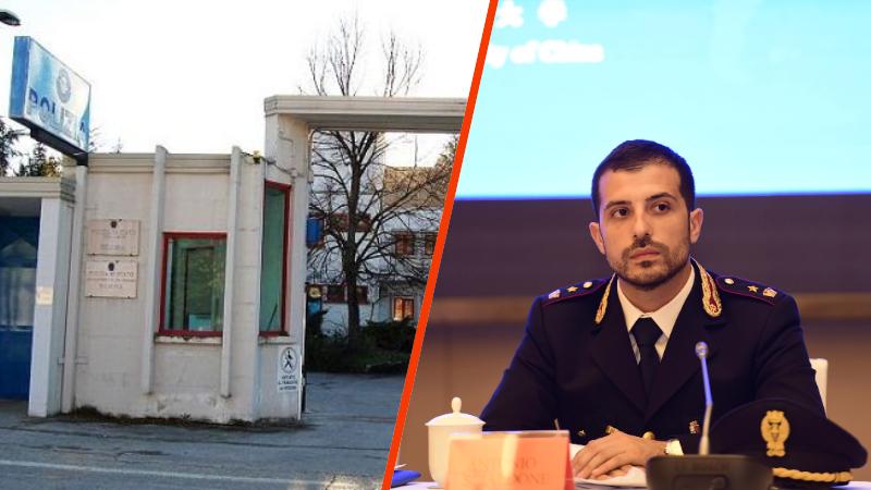 Antonio Scialdone è il nuovo dirigente del commissariato di Sulmona