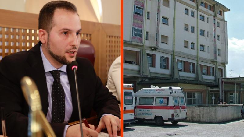 """Ospedale di Avezzano Fedele (M5S) """"La situazione continua ad aggravarsi, porto la questione in commisisone sanità"""""""