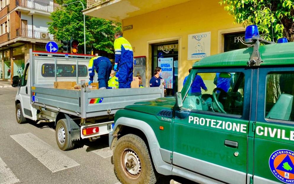 """La Pro Loco di Avezzano rientra nel C.O.C., Tudico """"Poter aiutare queste famiglie arricchisce l'operato del nostro gruppo"""""""