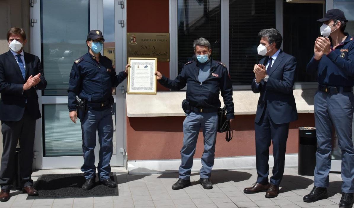 Il Questore saluta i neo pensionati ricordando il poliziotto ucciso a Napoli