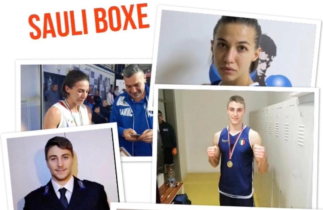 Tre pugili della l'A.S.D. Sauli Boxe inseriti nell'elenco ufficiale CONI degli Atleti nazionali