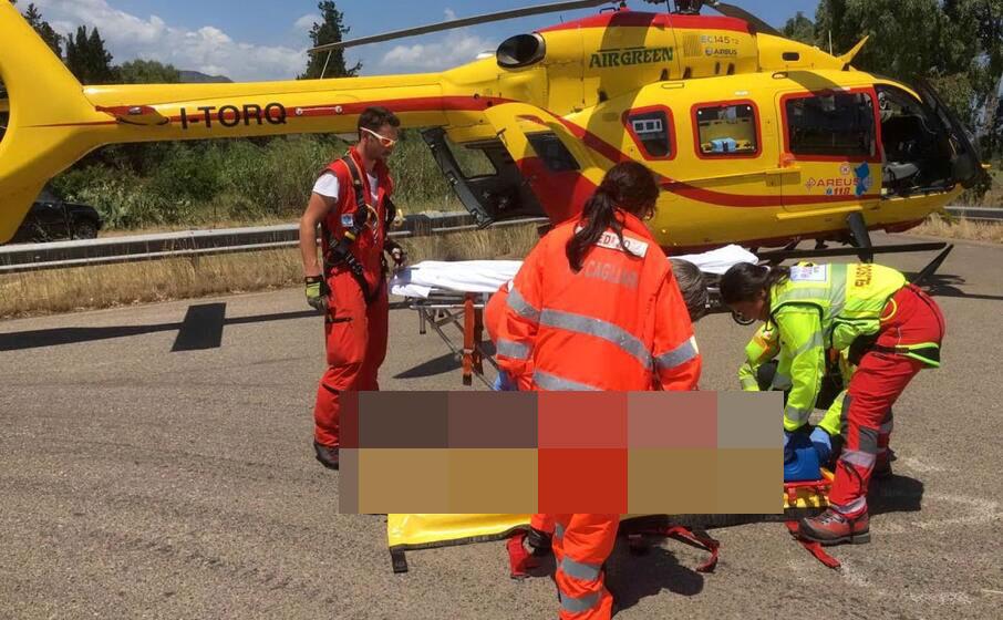 Auto contro bici: scontro improvviso, gravemente ferito un ciclista di Pescina