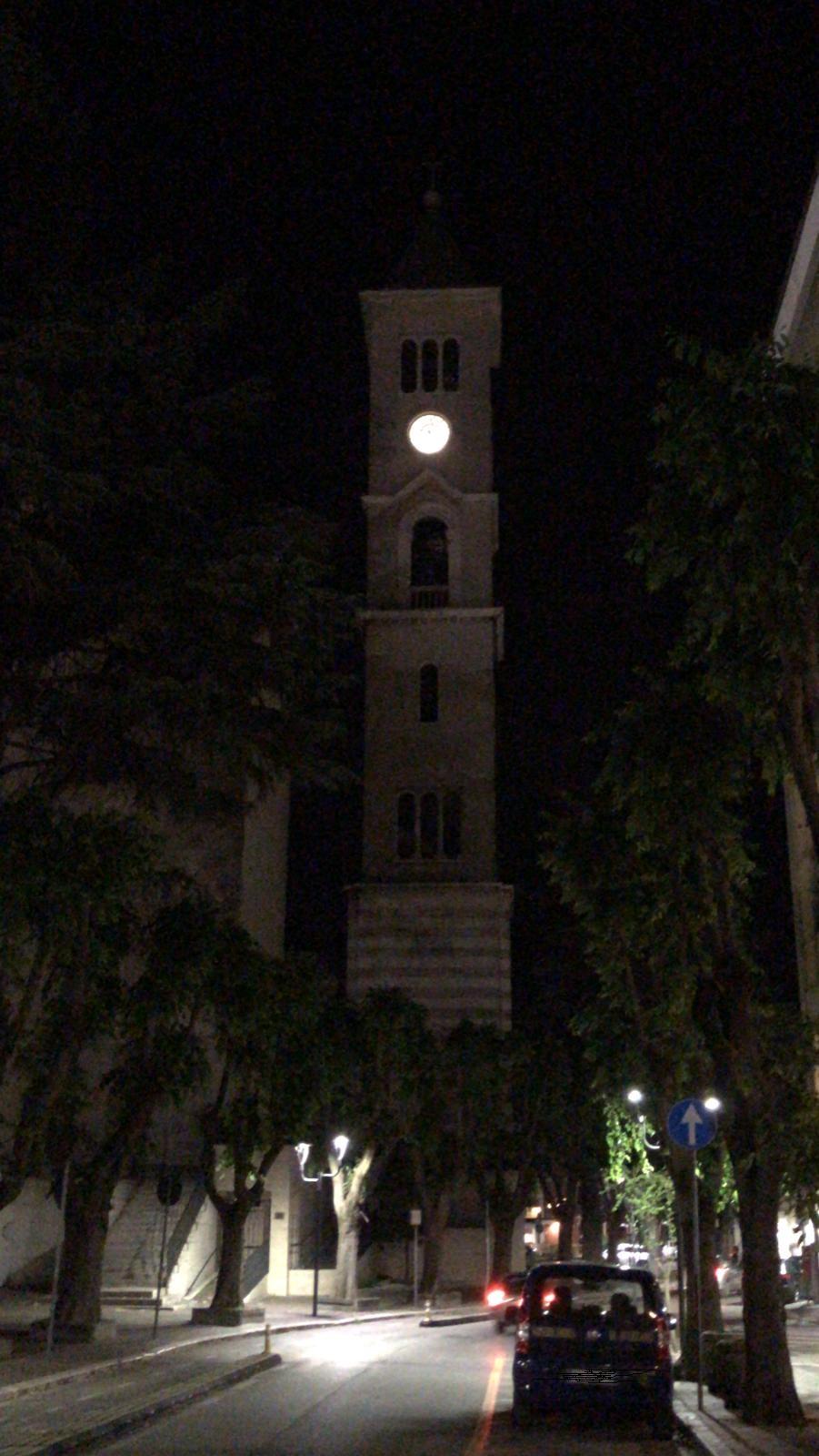 Spento il campanile della Cattedrale di Avezzano