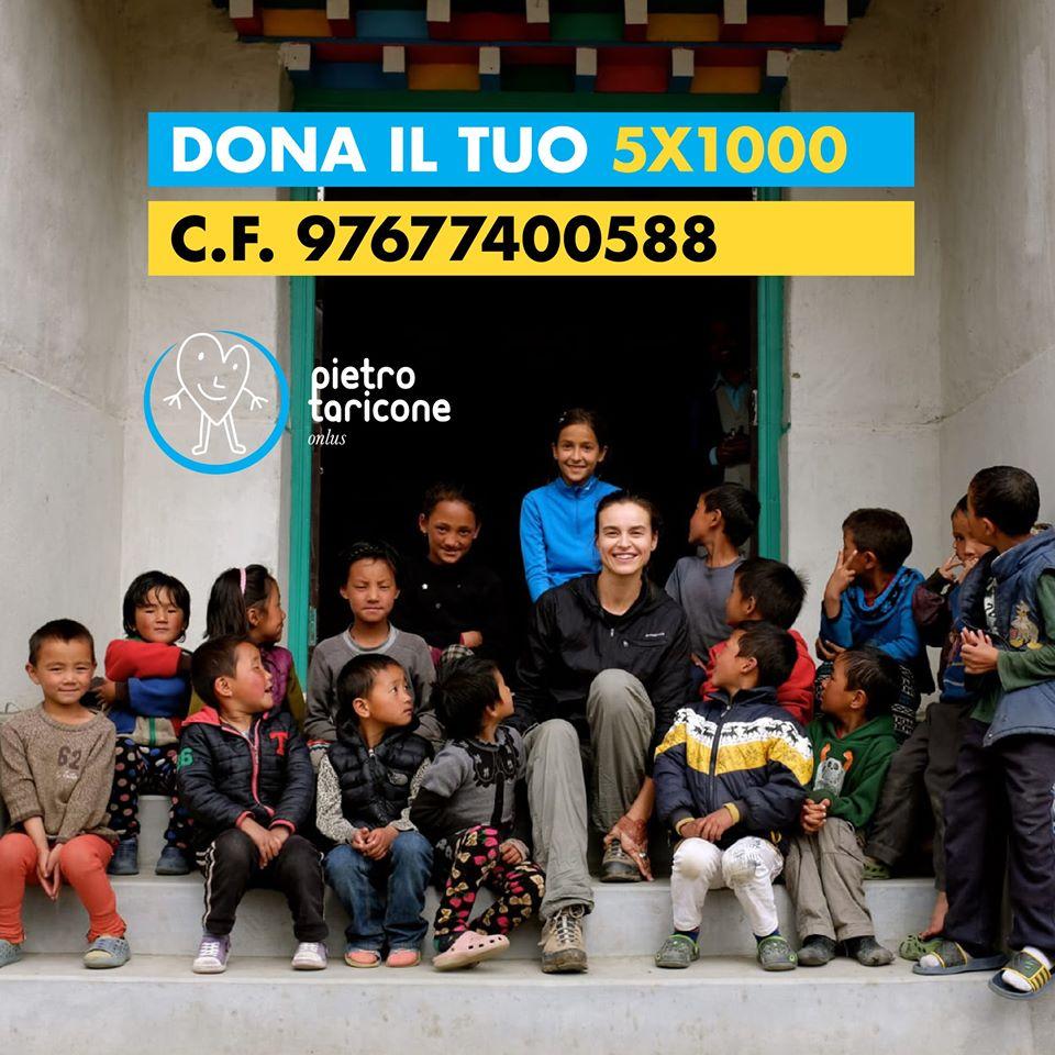 L'appello della Fondazione Pietro Taricone per il 5x1000