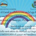 Inaugurato lo Sportello Informativo sulla Disabilità al Comune di Carsoli