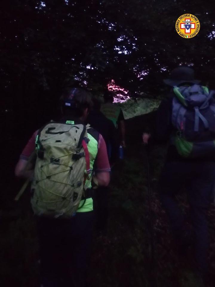 Monte Velino: intervento in corso per il recupero di un escursionista ferita ad una caviglia