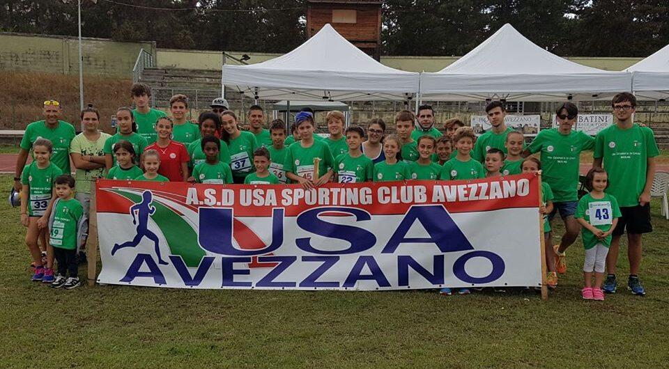 Atletica, l'Usa Sporting Club Avezzano riparte con cautela