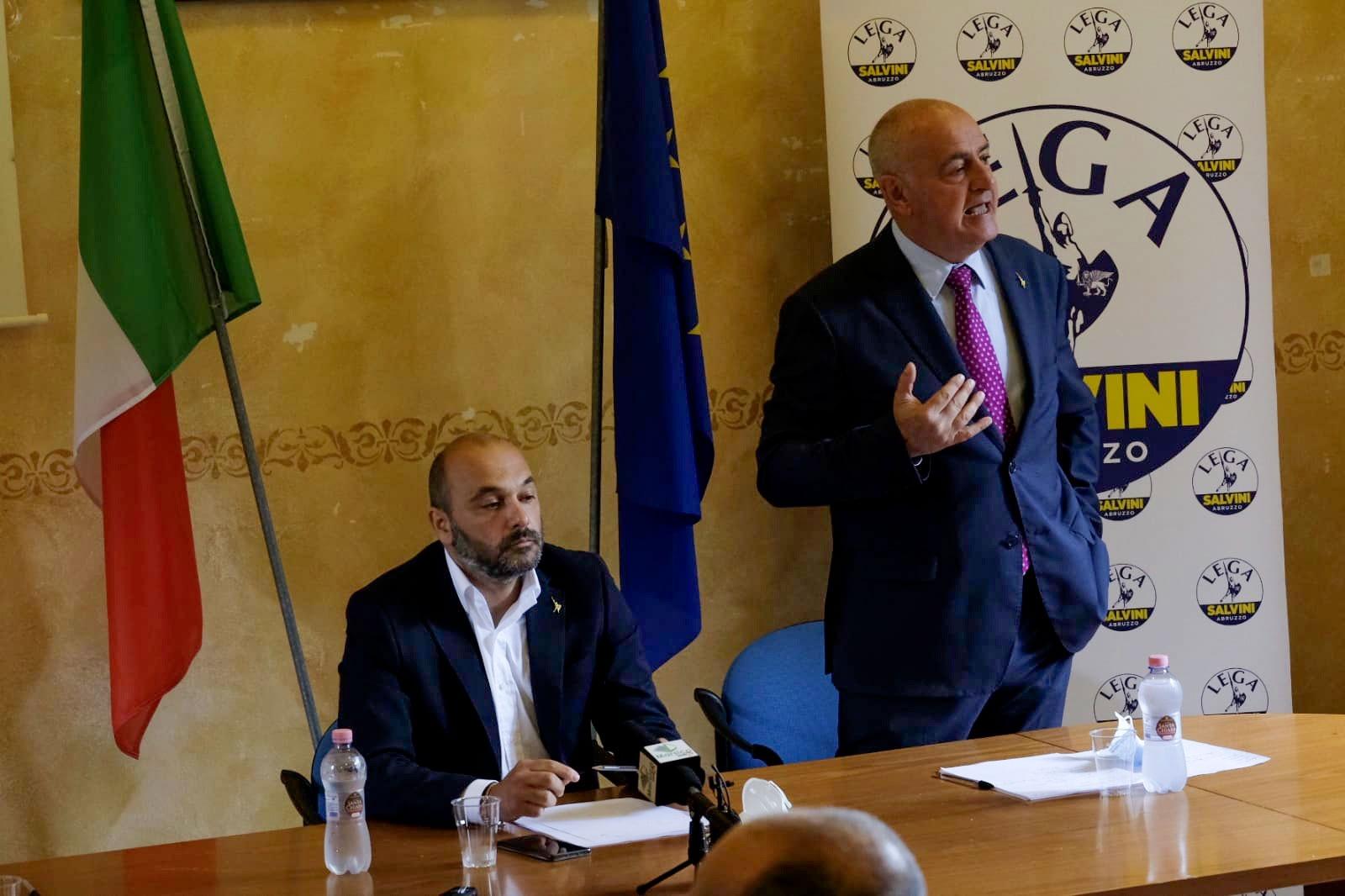 Il senatore Alberto Bagnai ad Avezzano per sostenere la candidatura di Tiziano Genovesi