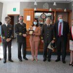 Il Prefetto Torraco visita il Comando dei Vigili del Fuoco