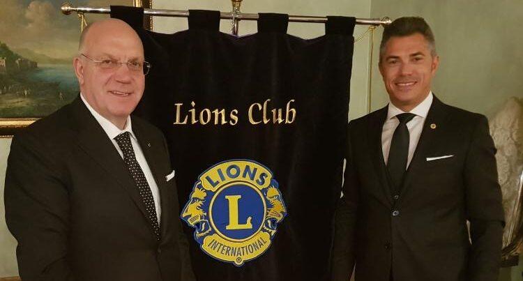 Passaggio di consegne nel Lions club di Avezzano: Marco Barbieri succede ad Antonio Del Corvo