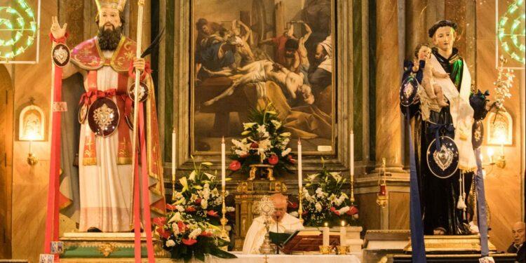 A San Donato messa in onore dei Santi Patroni. Le regole da seguire