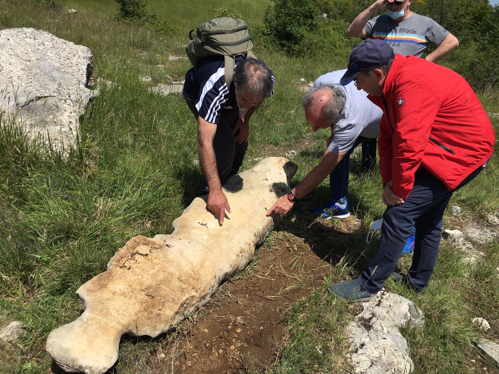 Parco Nazionale della Majella, ritrovato menhir del neolitico