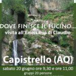 XI Giornata Europee dell'Archeologia, riprendono le visite guidate ad Alba Fucens e Capistrello
