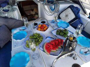 Una veleggiata con Afrodite, la barca a vela marsicana