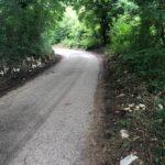 Capistrello, rimossi rifiuti abbandonati a Corcumello in Via delle Valli