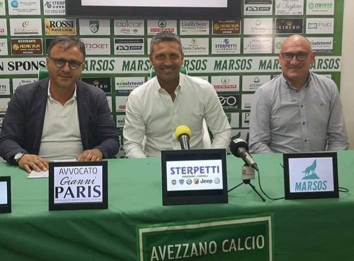 Avezzano calcio: Alessandro Del Grosso è il nuovo allenatore
