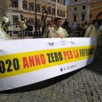 Fotografi protestano davanti a Montecitorio, Marsica presente