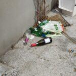 L'inciviltà abbonda in via Bellini ad Avezzano