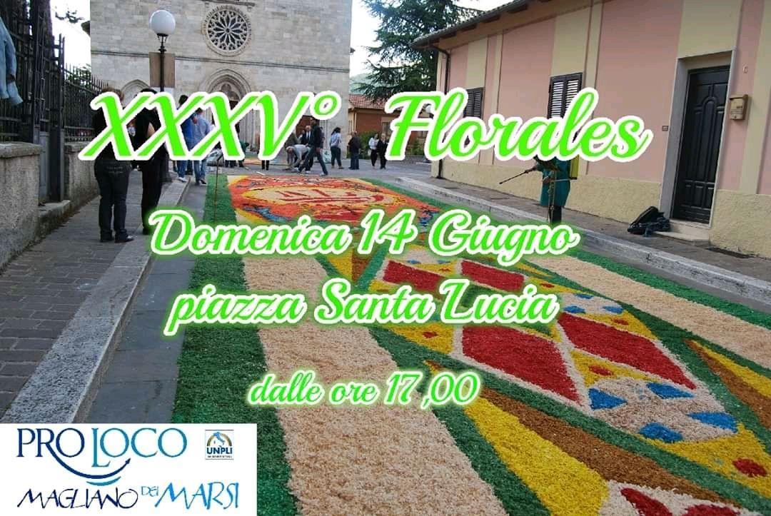 Edizione ridotta per la XXXV Florales a Magliano De' Marsi