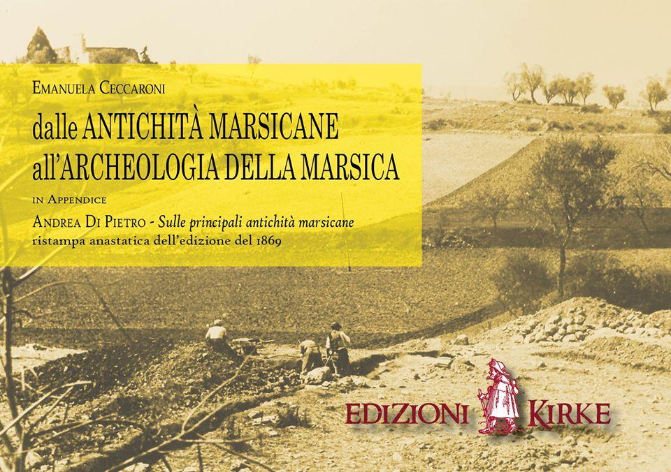 In arrivo il libro 'Dalle antichità marsicane all'archeologia della Marsica'