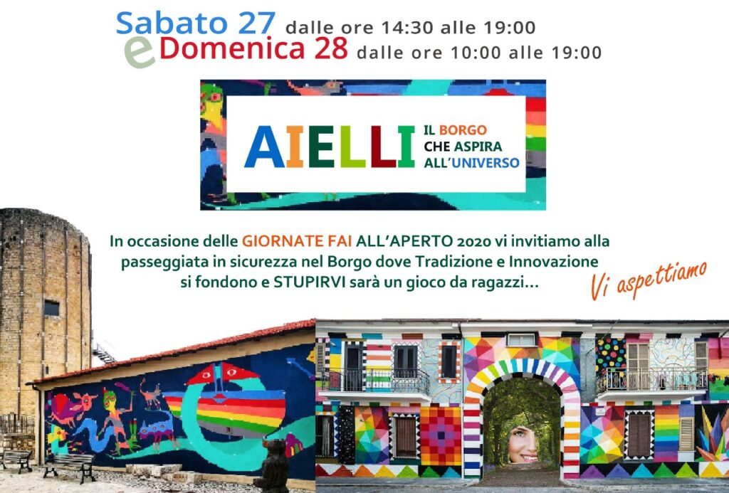 Borgo Universo Aielli nei 13 posti della regione Abruzzo scelti dal FAI
