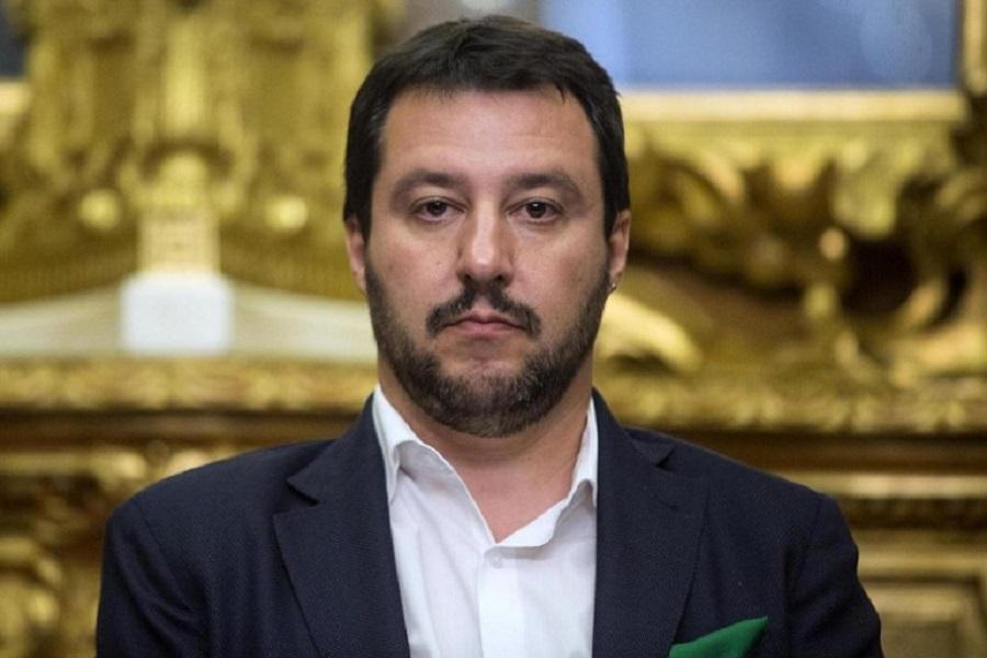 """Da Salvini solidarietà per il carabiniere ferito:""""Un grande abbraccio"""""""