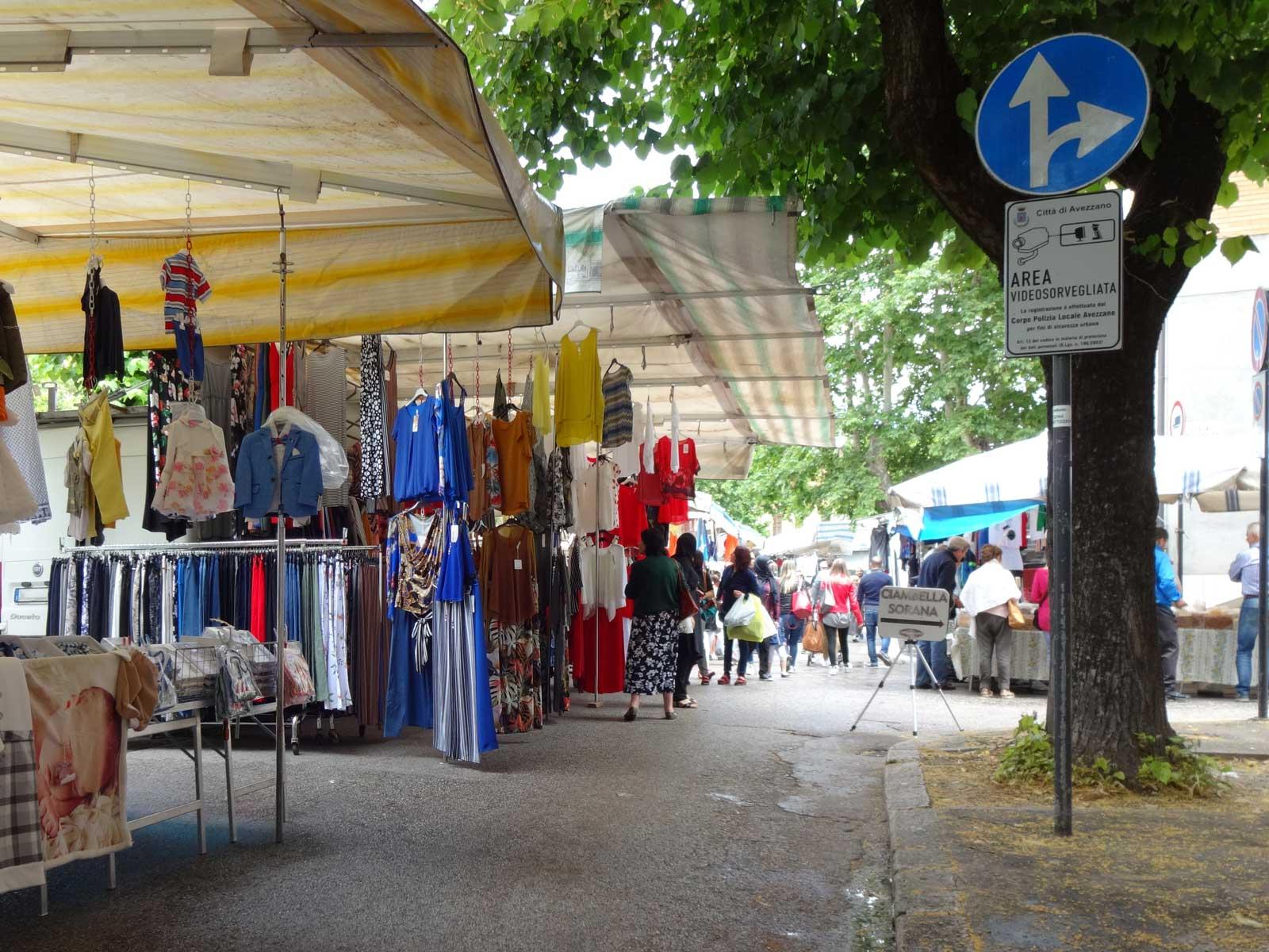 Ritorno del mercato in centro ad Avezzano, il Comitato dei Commercianti ringrazia i consiglieri comunali