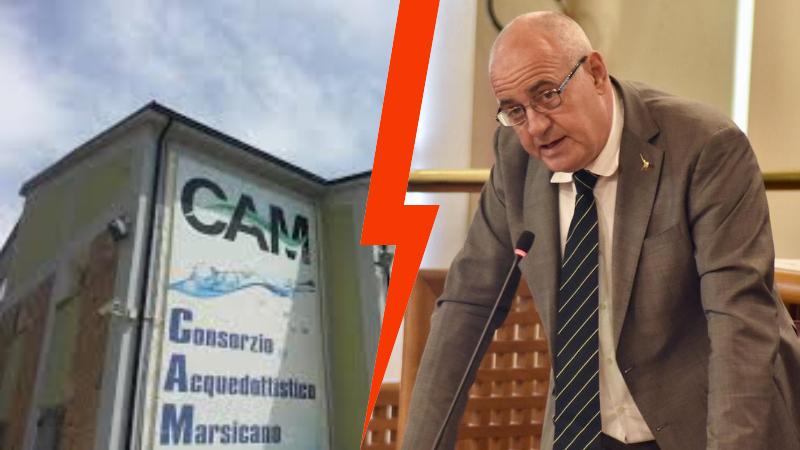 """Intervista a Simone Angelosante sulla situazione CAM e amministrative di Avezzano, """"Tiziano Genovesi è una garanzia come sindaco"""" """"sul Consorzio Acquedottistico non è compito mio indagare sulle cause del problema"""""""