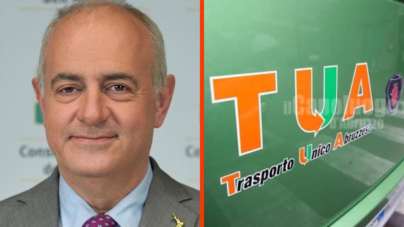 Angelosante scrive ai vertici di T.U.A. per chiedere di rivedere la politica di vendita on-line dei titoli di viaggio