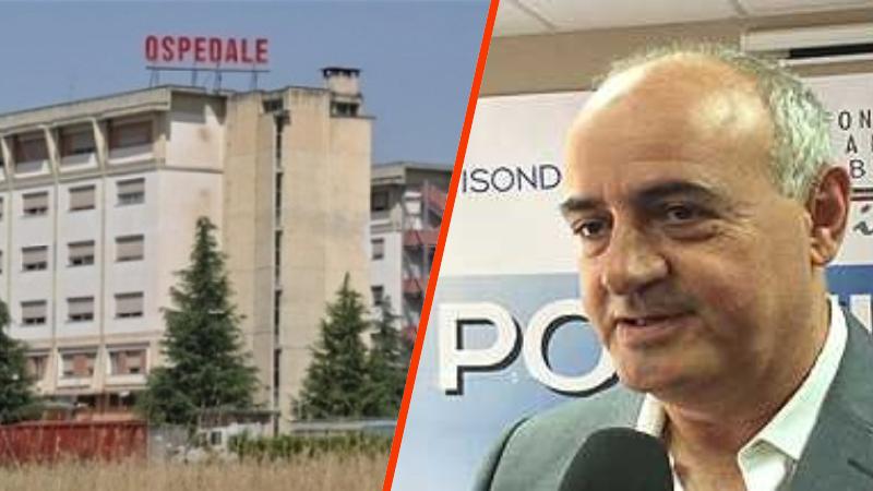 Angelosante «La Regione stanzia 2 milioni e mezzo per l'Ospedale di Avezzano. Non è vero che i tamponi sono finiti»