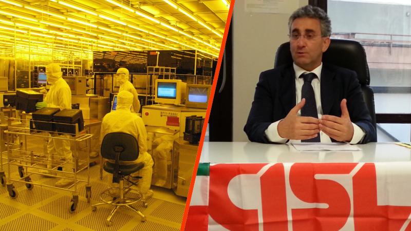 Antonello Tangredi, (Fim-Cisl) preoccupato per il futuro della LFoundry
