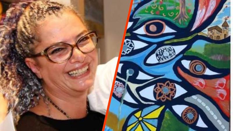 La pittrice marsicana Antonella Murzilli partecipa alla mostra Exposé di Ostia