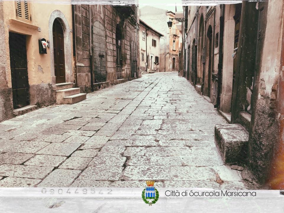 Scurcola Marsicana, lunedì scattano i lavori per la riqualificazione di Corso Vittorio Emanuele II