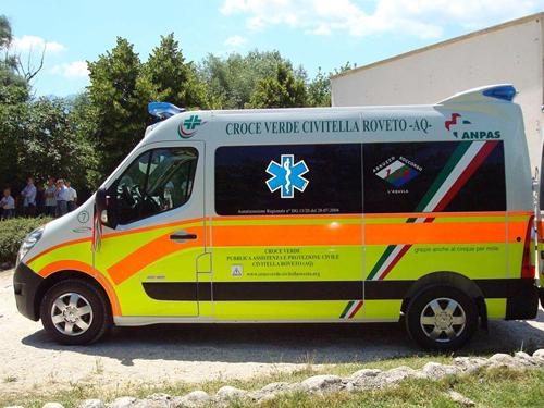 Assunzione di due infermieri per la Croce Verde di Civitella Roveto