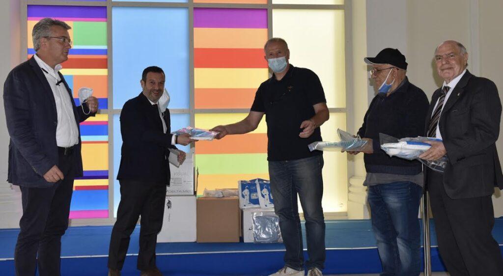 UNPLI Abruzzo dona materiale sanitario materiale sanitario agli operatori delle ASL abruzzesi