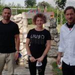 A Celano i due campioni Francesco Totti e Luciano Zauri per l'inaugurazione del polo sportivo sociale e dell'istituto Benedetto Croce