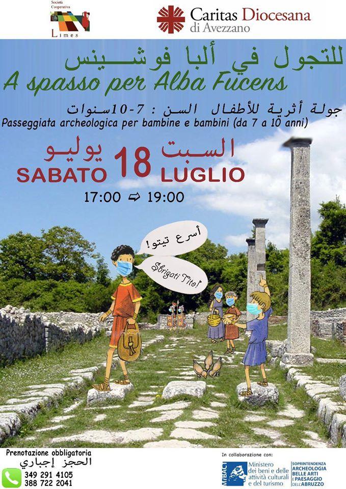 """""""A spasso per Alba Fucens"""", una passeggiata archeologica per tutti"""
