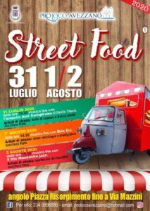Street food ad Avezzano dal 31 luglio al 02 agosto