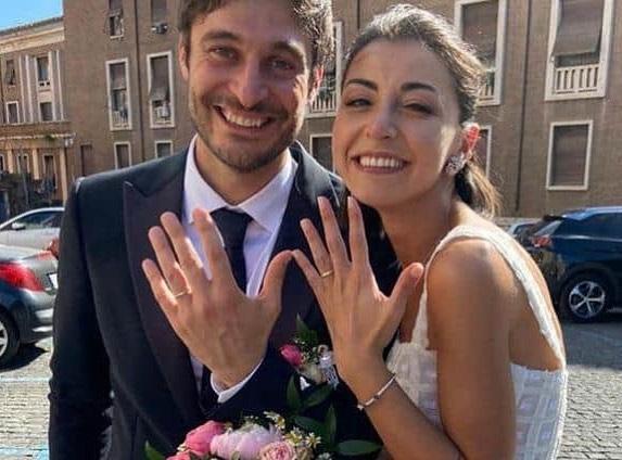 """Matrimonio """"segreto"""" per Lino Guanciale che ieri si è sposato con Antonella Liuzzi"""