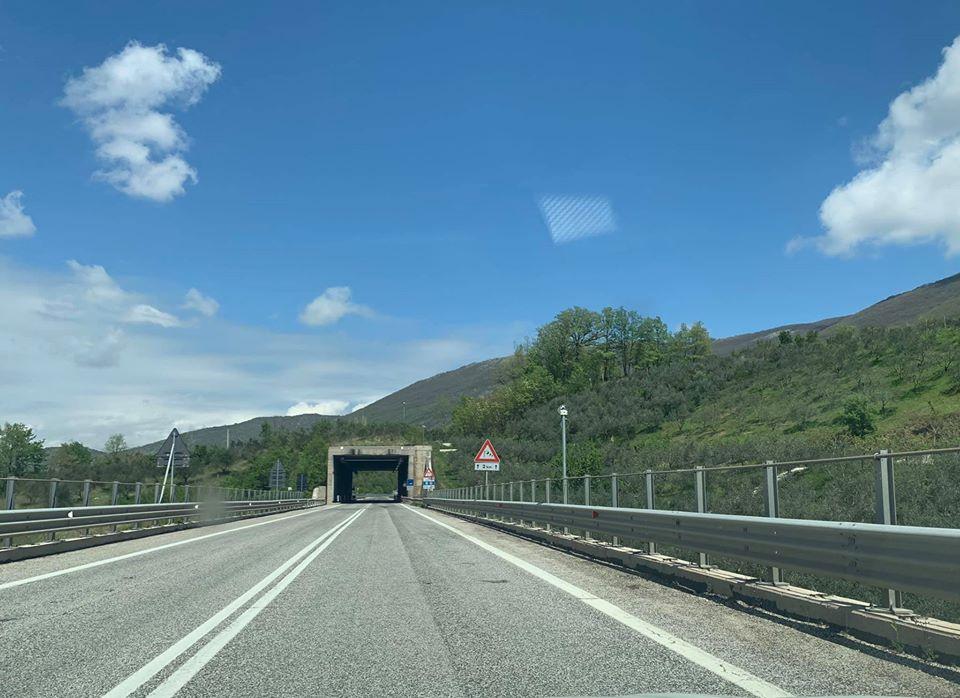 Superstrada Avezzano-Sora. alle 24 di oggi verrà riaperta nel tratto che interessa lo svincolo di Civitella Roveto