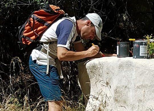 Sezione Cai Vallelonga Coppo dell'Orso, segnati i sentieri nel territorio di Lecce nei Marsi