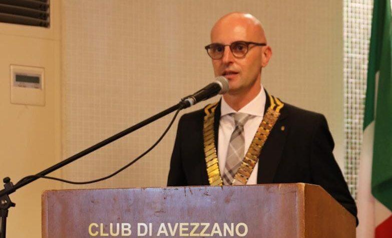 L'avvocato Paolo Porrini è il nuovo presidente del Rotary club di Avezzano