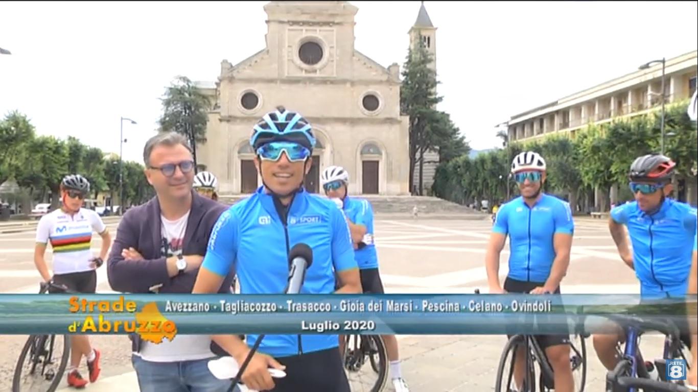 """Il tour di """"Strade d'Abruzzo"""" fa tappa nella Marsica"""