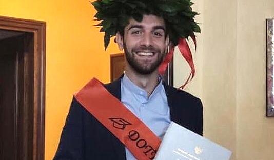Laurea per il campione di pallavolo Pierpaolo Mauti di Roccavivi