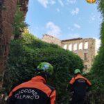 Unità cinofile specializzate in catastrofe impegnate in un Polo Formativo Cinofilo in Abruzzo