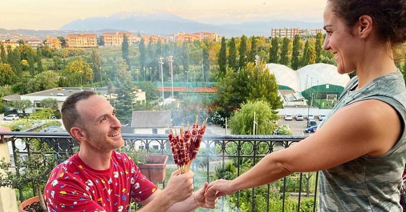 Manifestazioni di romanticismo abruzzese: il bouquet di arrosticini